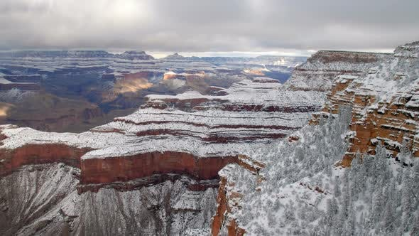 Thumbnail for Timelapse over looking the Grand Canyon