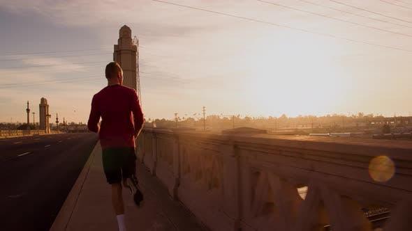Thumbnail for Man Going For A Morning Jog