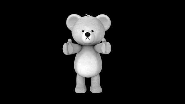 Thumbnail for White Teddy Bear Clap