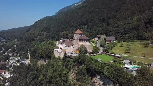 Thumbnail for Aerial View of Vaduz Castle, Liechtenstein