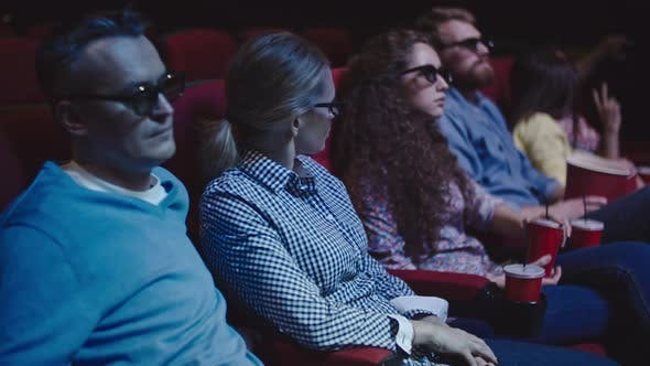 Thumbnail for Watching Movie in 3D Glasses