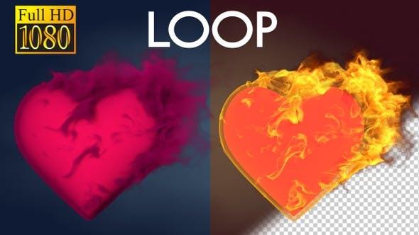 Thumbnail for Flaming Hearts