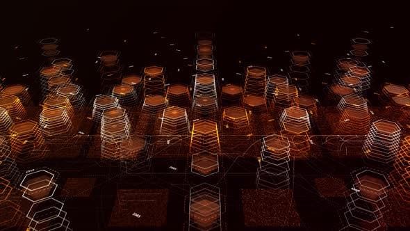 Holographic hexagons