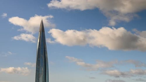Lahta center, financial business center of saint petersburg. tallest building in europe