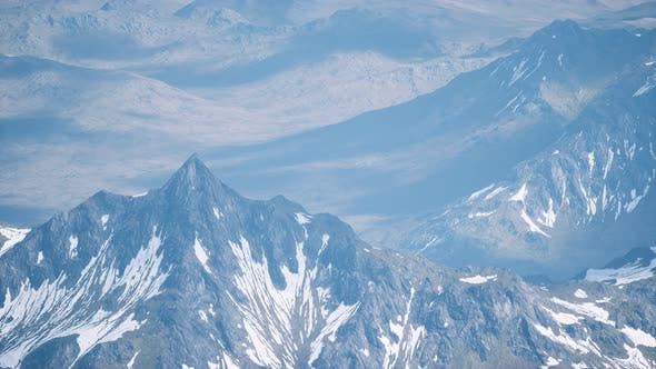 Thumbnail for Aerial View Landscape of Mountais with Snow Covered