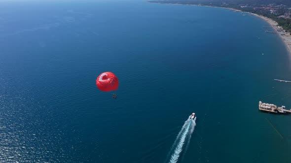 Thumbnail for Parasailing On The Mediterranean Shore