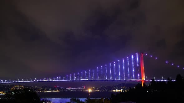 Thumbnail for Bosphorus Bridge Night