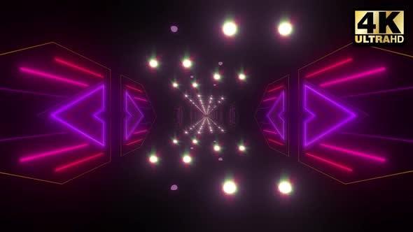 Thumbnail for Colorful Endless Corridor 4k