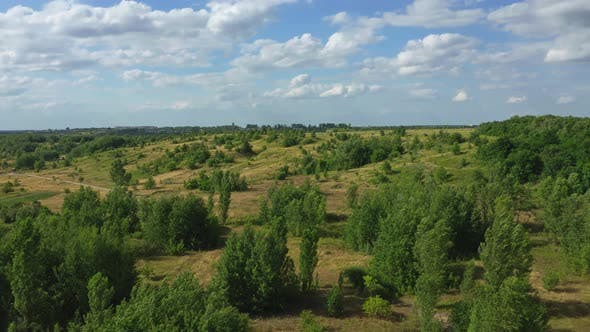 Thumbnail for Aerial View Nature Summer Background