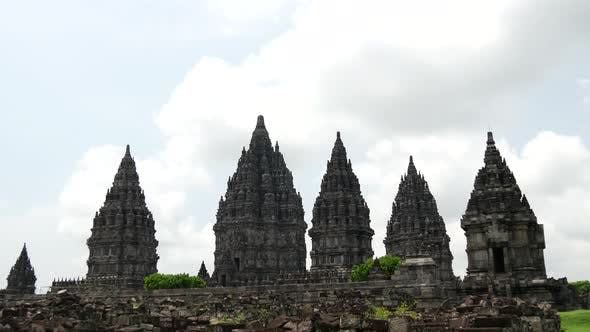 Time lapse from the Prambanan Temple
