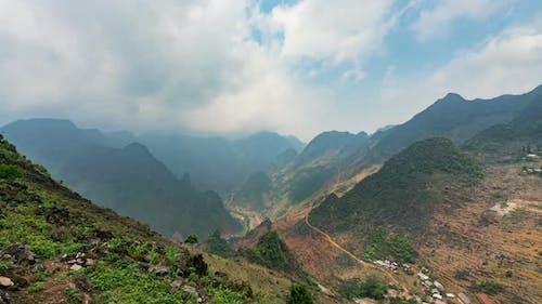 Ha Giang Valley Vietnam Timelapse  Ha Giang Valley