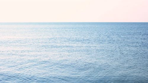 Tranquil Morning Sea