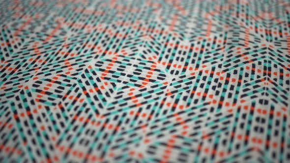Thumbnail for Color Abstract Fabric