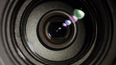 The Camera Lens Changes the Focal Length