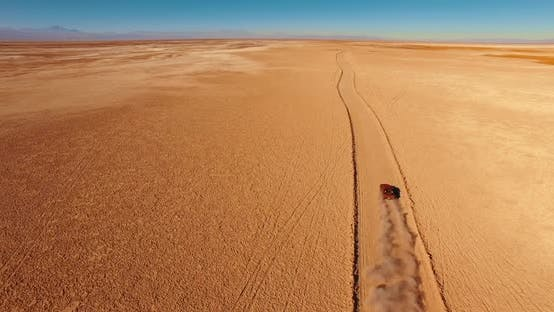 Thumbnail for Off-road Vehicle Rides Across Breathtaking Remote Landscape