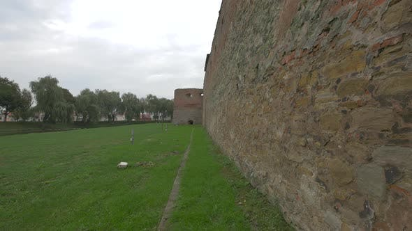 Fortified Wall at Fagaras Fortress