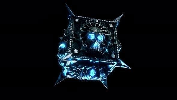 Demonic Cube VJ Loop
