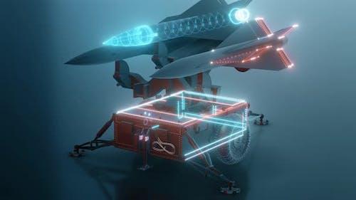 The Missile Launcher Hud Hologram 4k