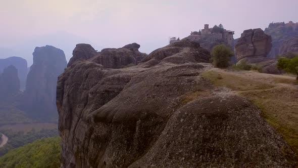 Thumbnail for Aerial view of Meteora Monasteries in Kalampaka, Greece.
