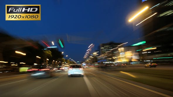 Thumbnail for Barcelona Night City Drive Cameracar 3