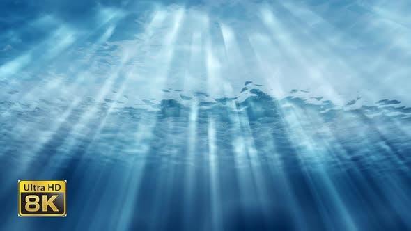 Unterwasser Tiefenwasser 8k