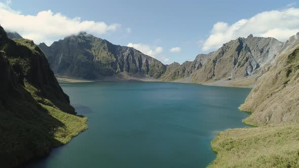 Thumbnail for Crater Lake Pinatubo, Philippines, Luzon.