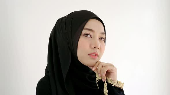 Thumbnail for Portrait of a Young Asian Muslim Woman