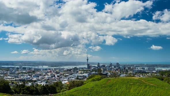 Thumbnail for Auckland Cityscape from Mount Eden