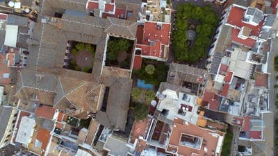 Rooftops and Streets of Seville