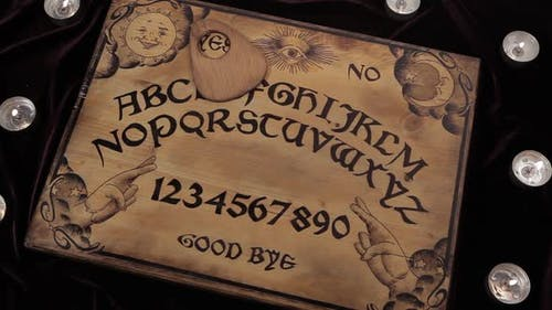 Ouija Moves Alone And Says Yes