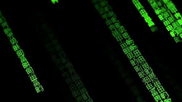 Thumbnail for Computer Codes Running 1459