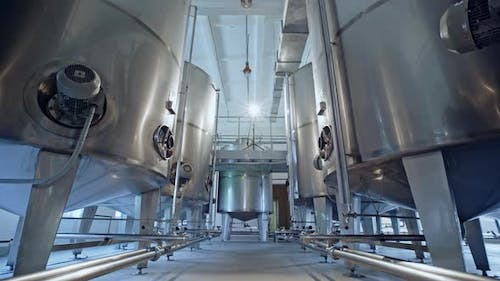 Stainless Steel Vats for Wine