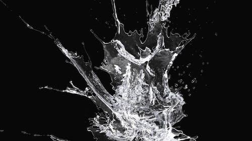 Purified Water Splash