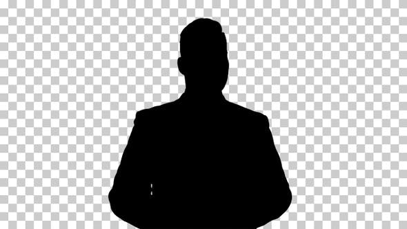 Thumbnail for Silhouette Businessman