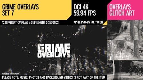 Grime Overlays (4K Set 7)