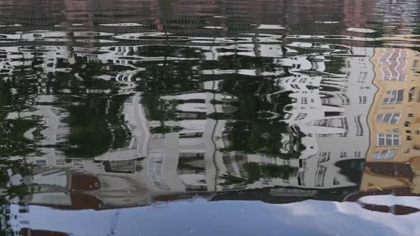 Berlin City - Spree River - House Reflection