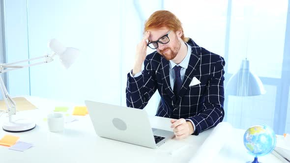 Thumbnail for Redhead Businessman Excited for Online Shopping