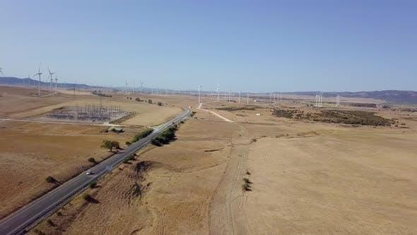 Thumbnail for Luftbild der Plantagen in der Wüste