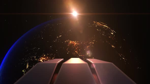 Earth Night India Alien Invasion