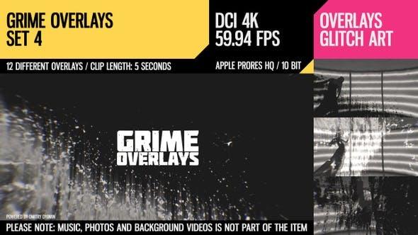 Grime Overlays (4K Set 4)