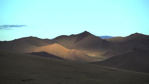 Shadow and Local Sunlight in Treeless Hills