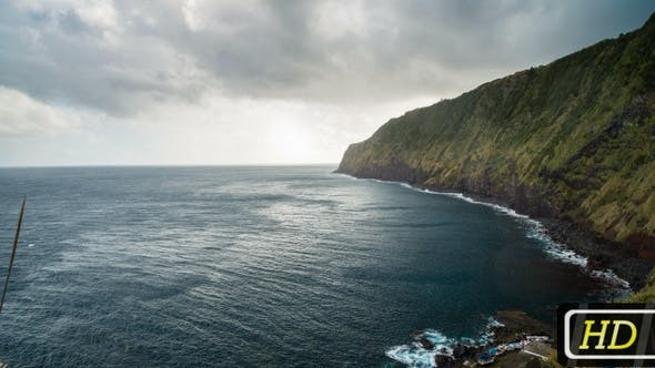 Thumbnail for Atlantic Ocean Coastline from Azores Islands