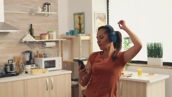 Listening Music and Dancing