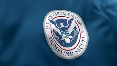 United States Department of Homeland Security Flag