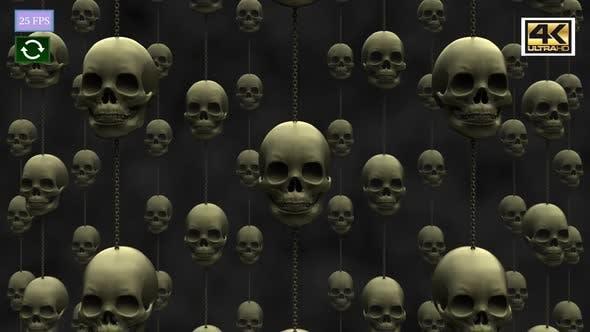 Thumbnail for Skull Vertical 4K