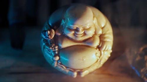 Figurine Hotei God of Communication Fun and Wellbeing