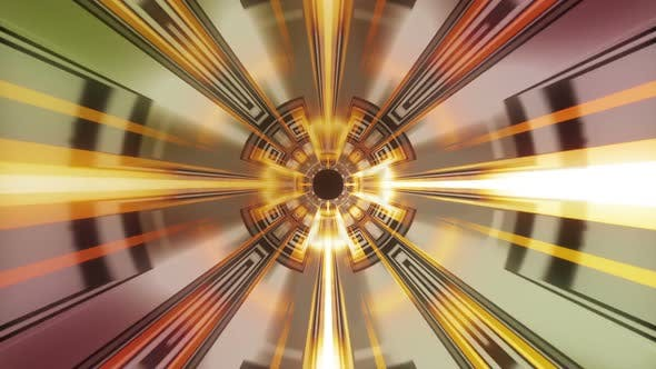 Thumbnail for Expanding Circle Rays Red 04