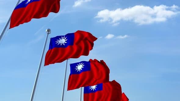 Thumbnail for Many Waving Flags of Taiwan