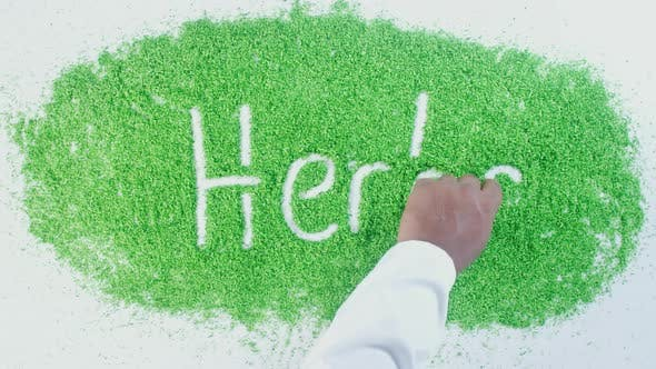 Thumbnail for Green Writing   Herbs