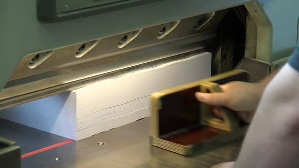 Thumbnail for Schneidemaschine für Papier